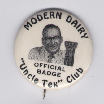 Modern Dairy Uncle Tex club WKBI radio