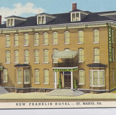 New Franklin St. Marys PA postcard