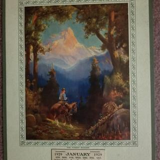 Smith Brothers Co. Calendar  1929