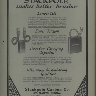 Stackpole Carbon Co. Ad