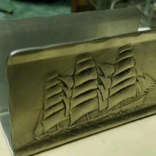 Wendel August Stackpole napkin holder