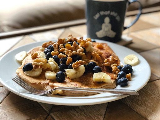 lazy morning pancakes