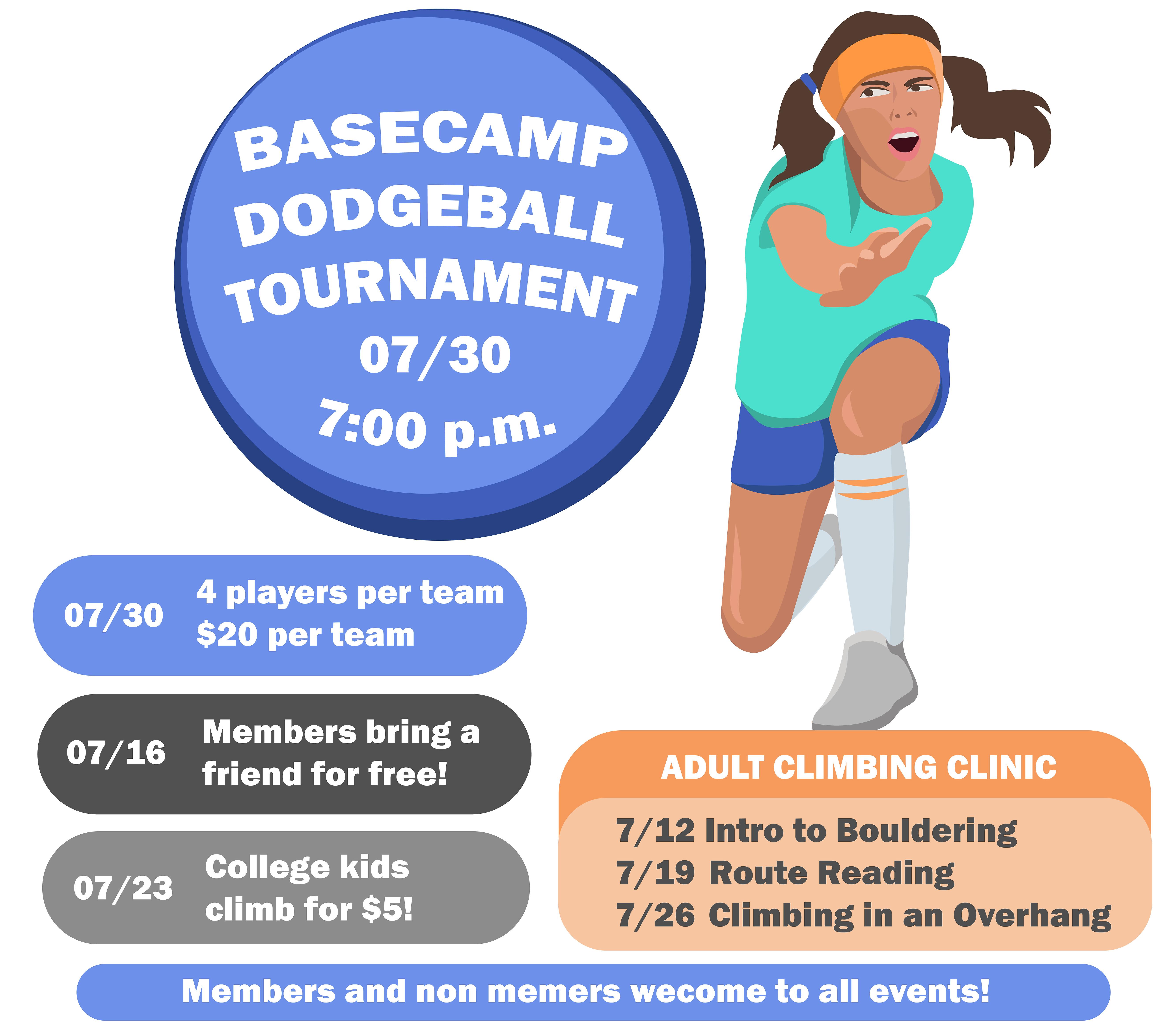 Dodgeball Team Signup