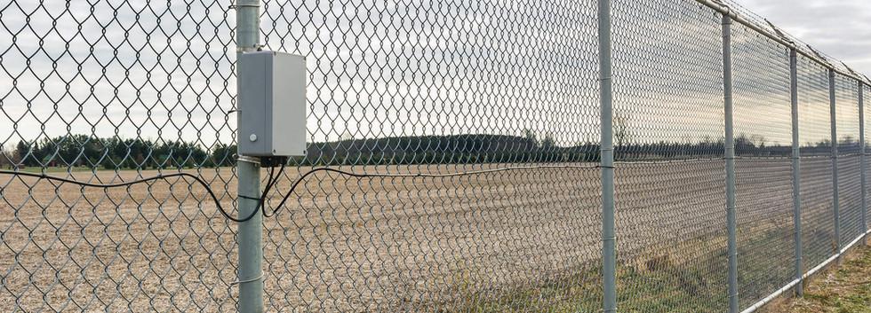 FlexZone on fence