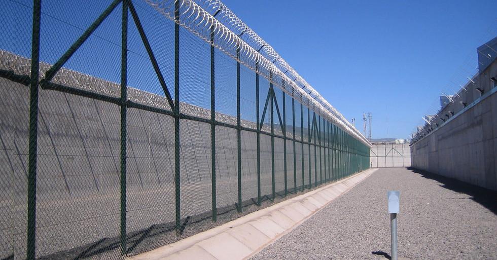 UltraWave between fences.