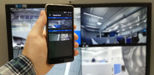 Senstar ThinClient App Display