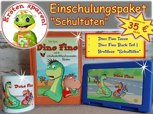 Einschulungsspecial Schultüten: Buch 1, Tasse und Brotdose
