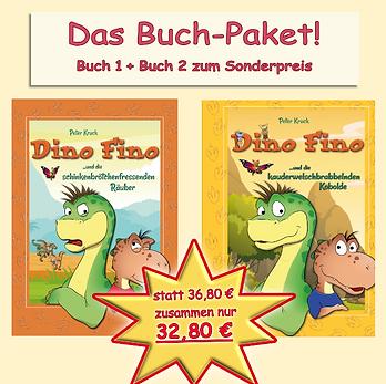 """Kombi-Paket """"Dino"""": Buch 1 und 2 zum Sonderpreis"""