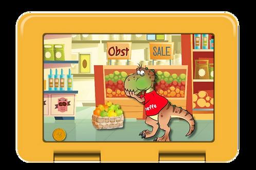Brotdose Ricky im Supermarkt