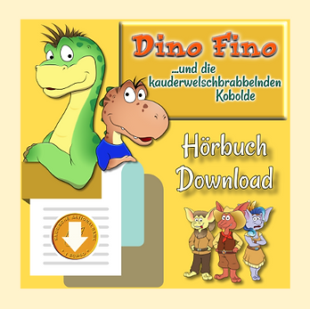 Dino Fino Buch 2: Hörbuch zum Download