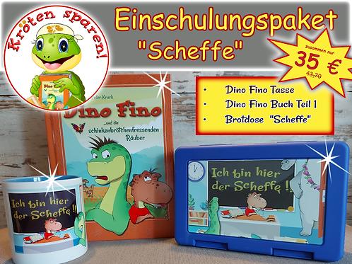 Einschulungsspecial Scheffe: Buch 1, Tasse und Brotdose