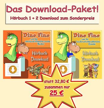 """Kombi-Paket """"Edgar"""": Hörbücher (Buch 1 und 2) zum Download"""
