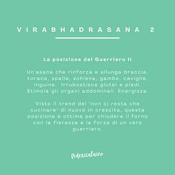 Comics_Yogi e bua_Virabhadrasana 2_testo