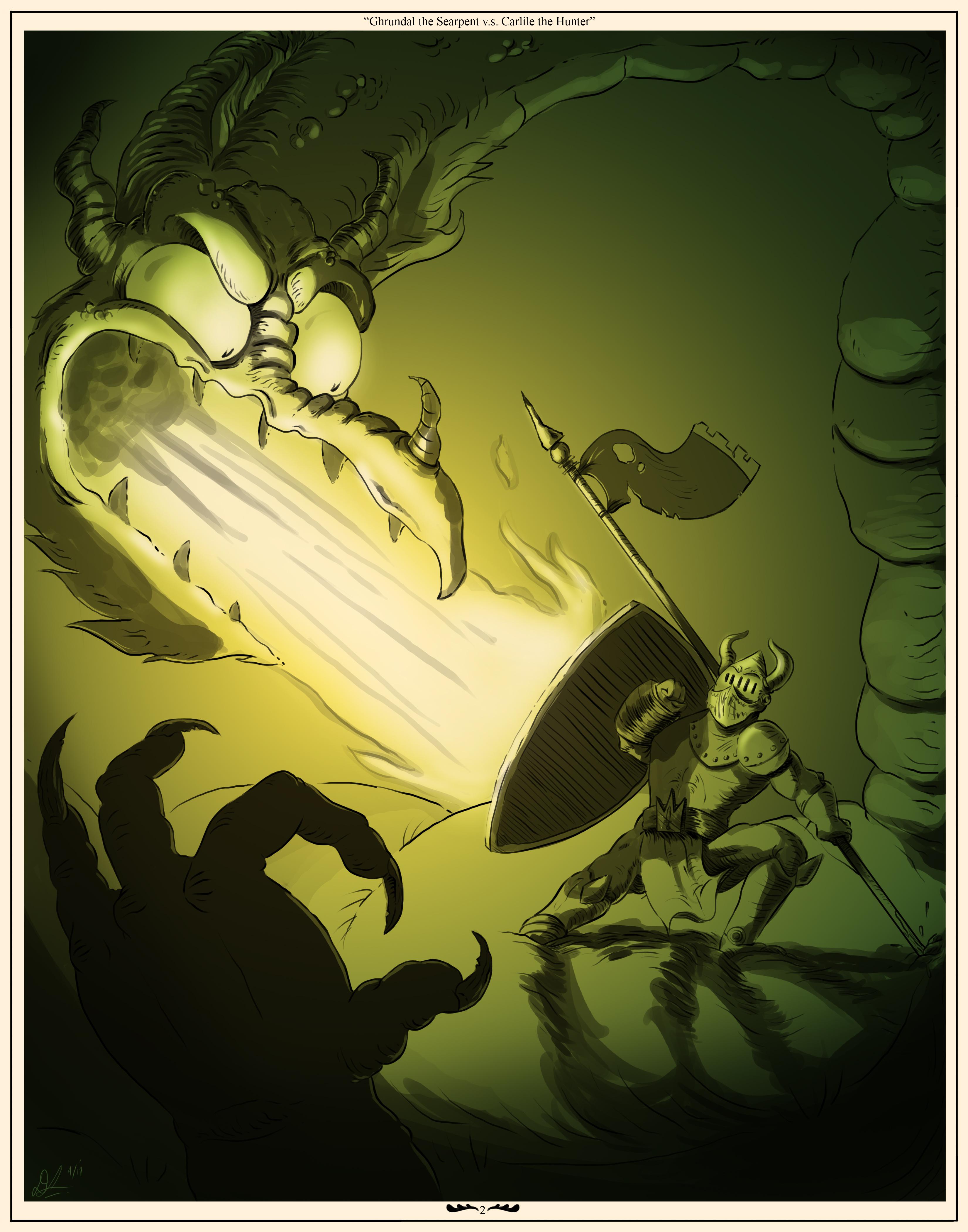 Ghrundal V.S. Carlile Serpents Bane