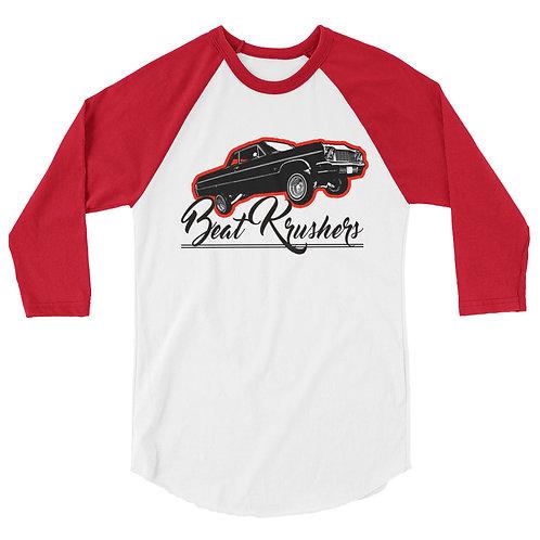 Lowrider Beat Krushers 3/4 sleeve raglan shirt