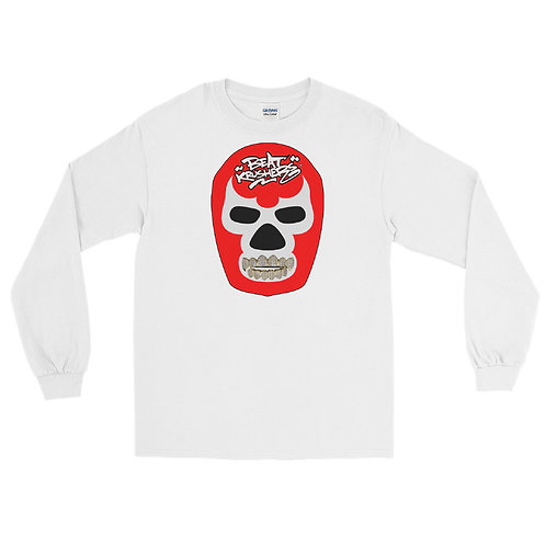 Ice Red Mascara Men's Long Sleeve Shirt