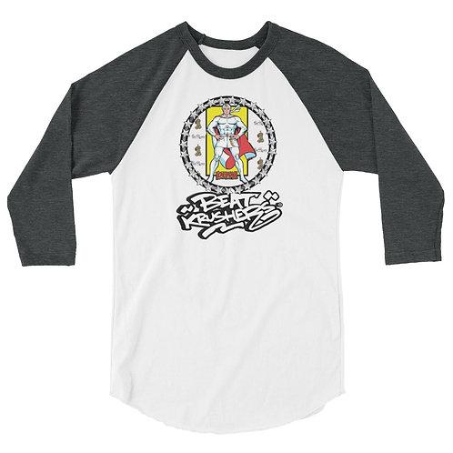KaliMan Edition 3/4 sleeve raglan shirt