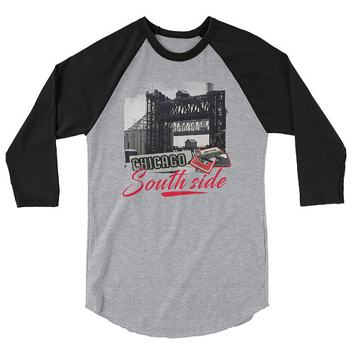Chicago Southside Mixtape 3/4 sleeve raglan shirt
