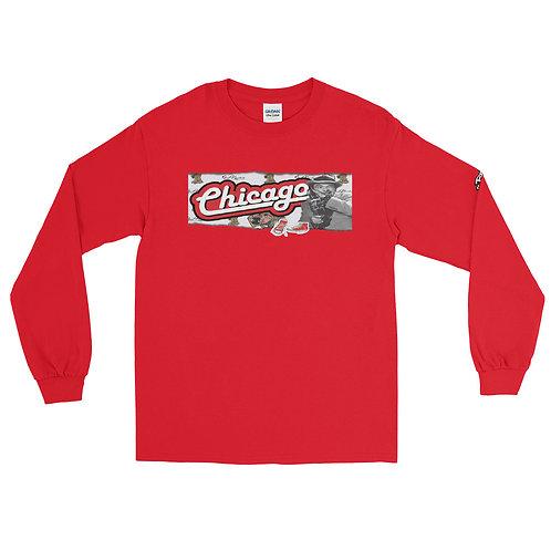 Classic Chicago TinTan Men's Long Sleeve Shirt
