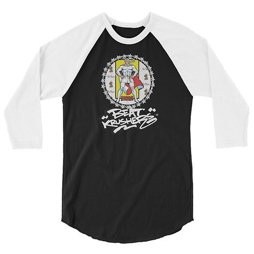 KaliMan Edition 3/4 sleeve raglan shirt
