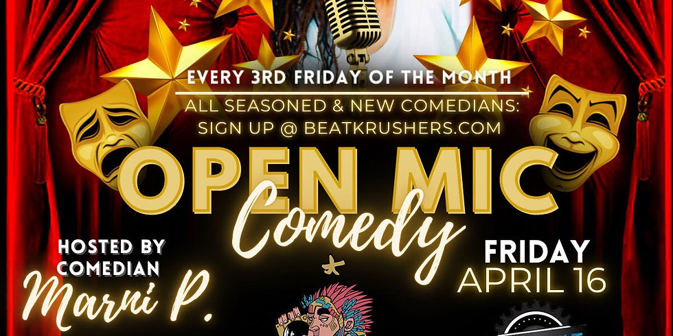 COMEDY OPEN MIC SIGN UP