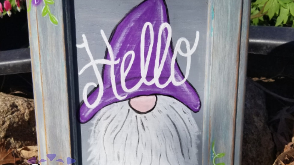 Purple hat gnome