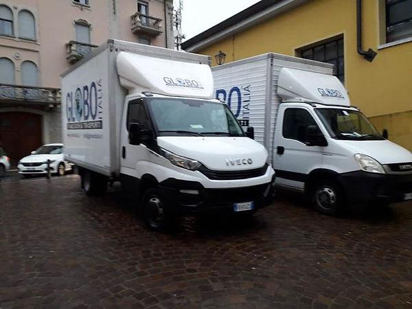 Noleggio furgoni con autista - Traslochi Globo Italia Roma
