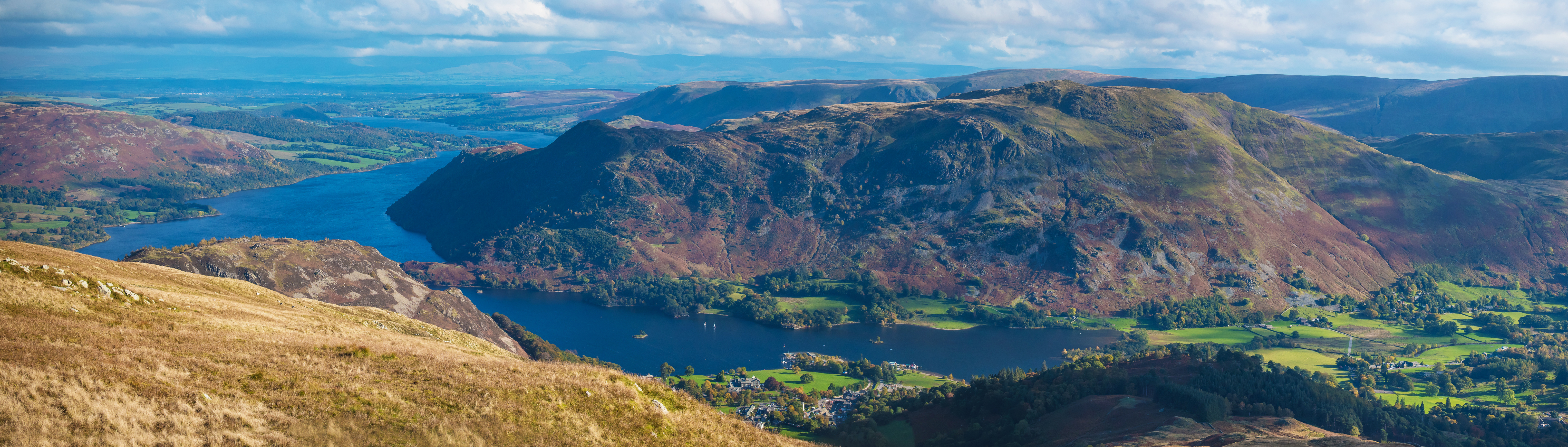 ullswater from the nab