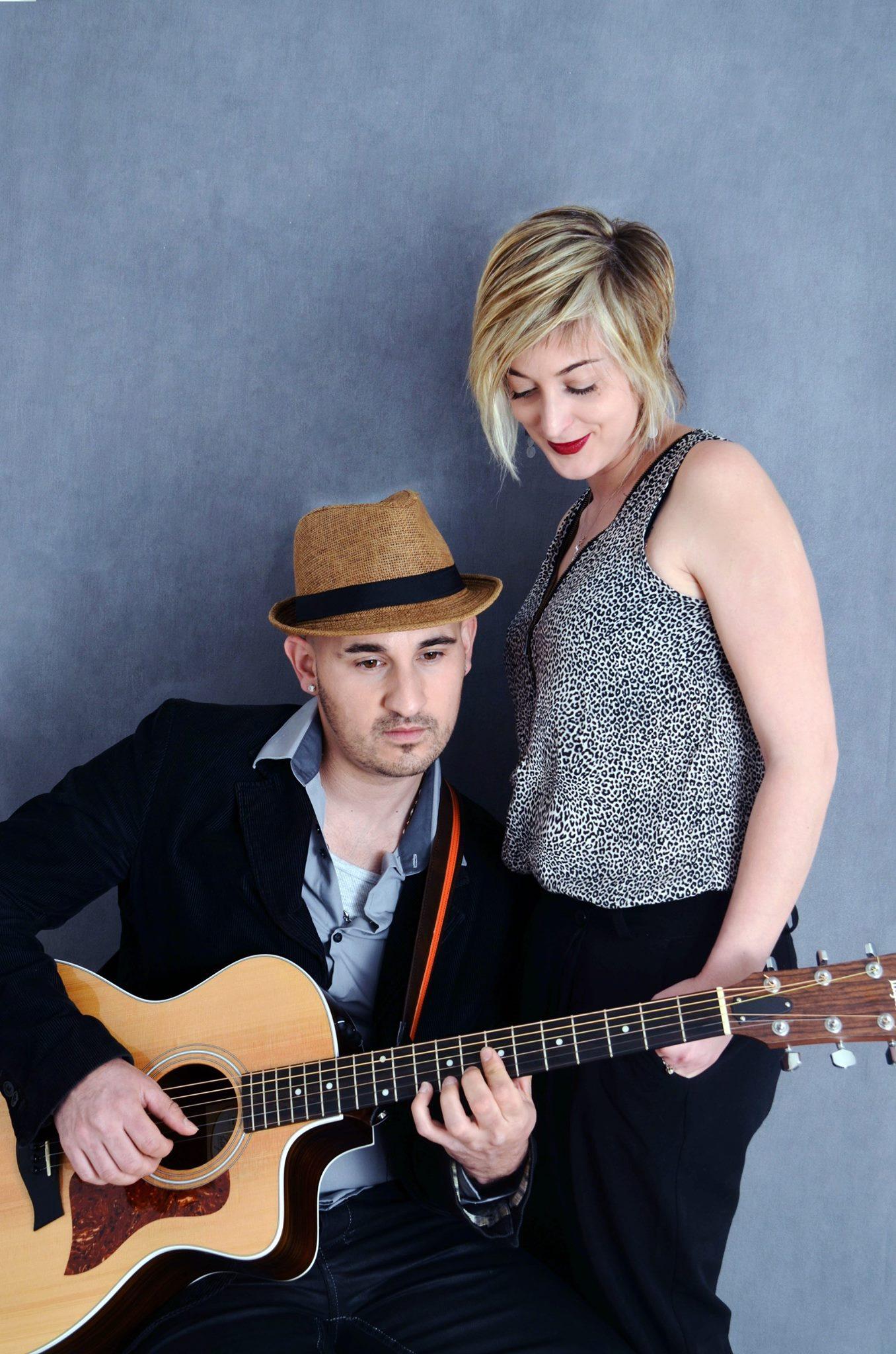 Acoustic live music duet