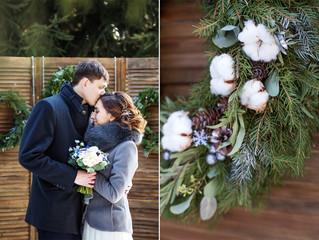 Особенности организации зимней свадьбы