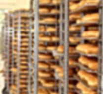 wracks of glazed doughnuts