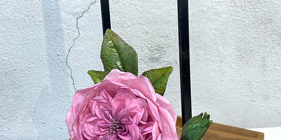 David Austin Rose - Cold Porcelain Flower Class