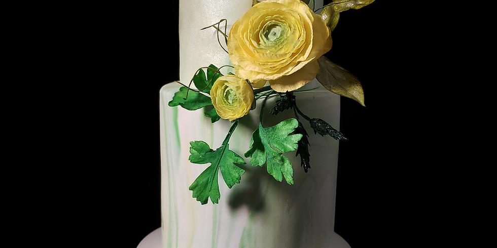 Ranunculus - Wafer Paper Flowers