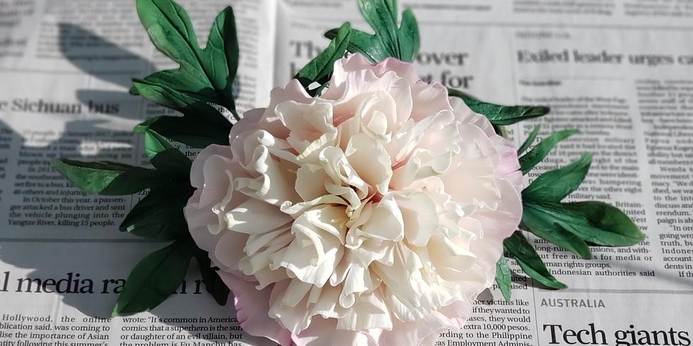 Peony - Gum Paste Flower