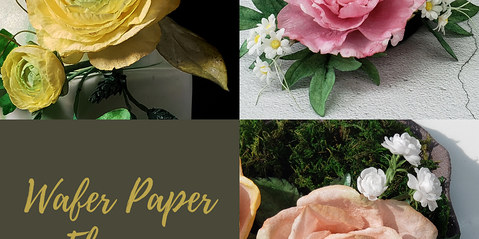 3-Day Wafer Paper Flowers Class