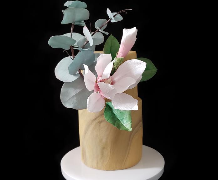 木蘭花&尤加利葉 - 糖花班