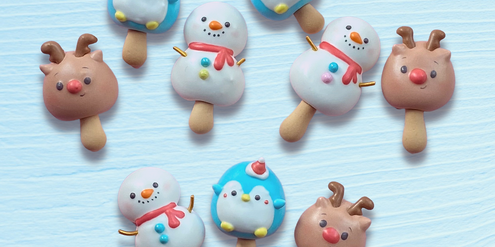 Frosty Friends Meringue Cookie