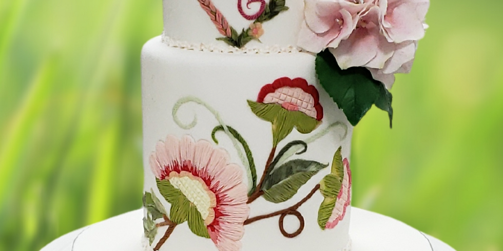2-Day Course - Fondant Wedding Cake Workshop