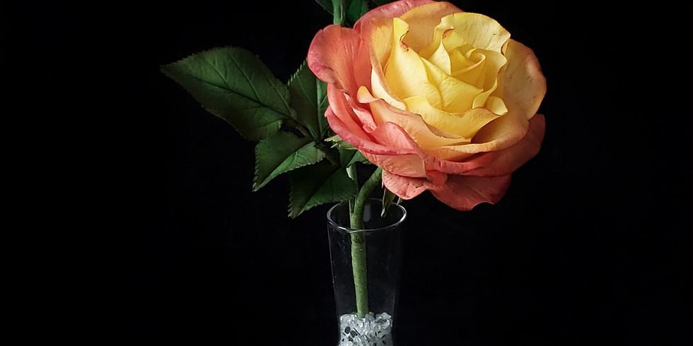Double Delight Rose - Sugar Flower Class