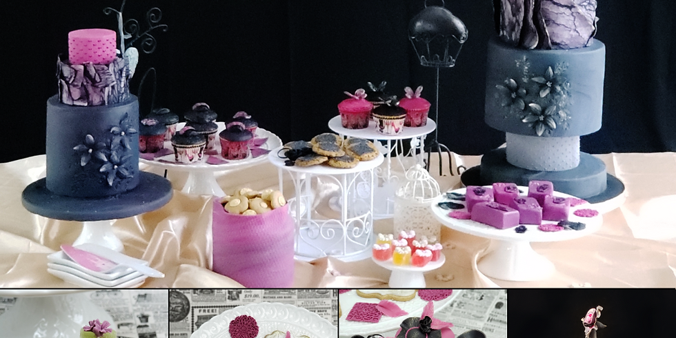 3-Day Course - Rolled Fondant Dessert Table - PME 5 Star Sugar Artist Course