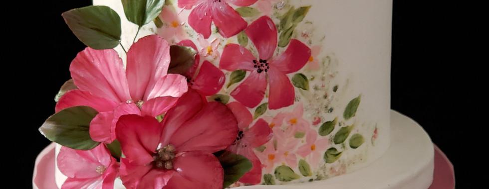 Fantasy Flower Cake