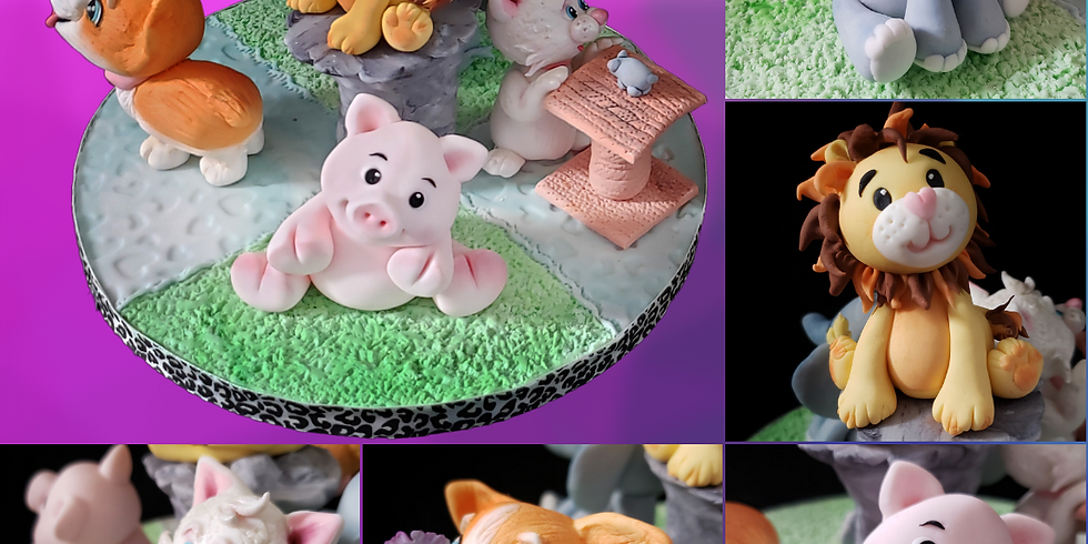 2-Day Course - Sugar Animals