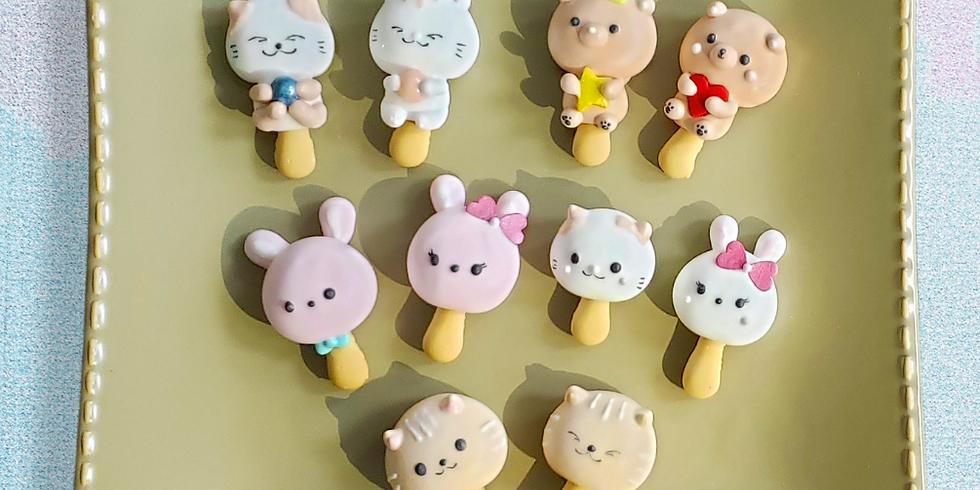 Animal Meringue Cookies