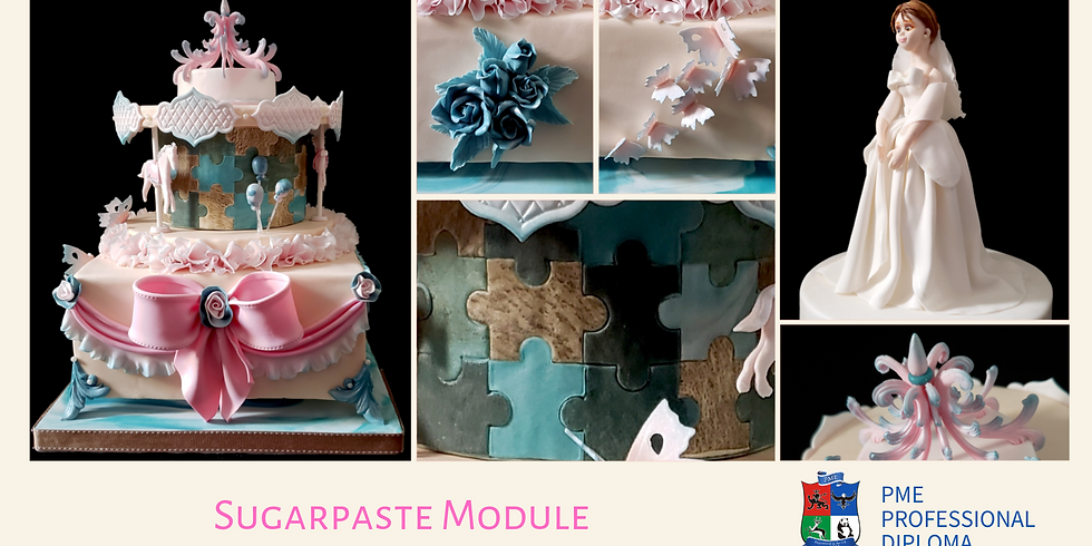 4-Day Weekend Course - PME Diploma - Sugarpaste Module