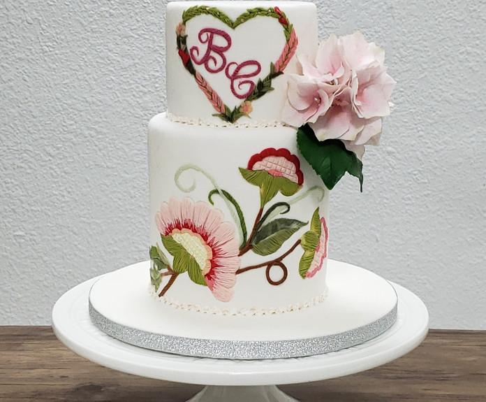 Fondant Wedding Cake Course