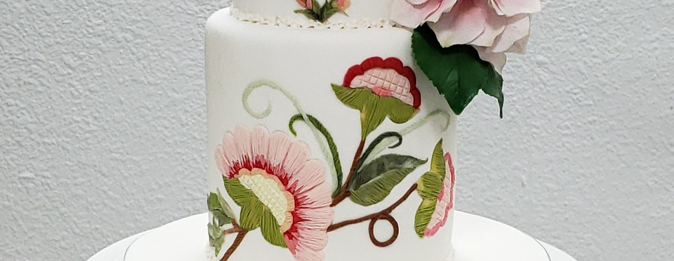 Fondant Wedding Cake Course