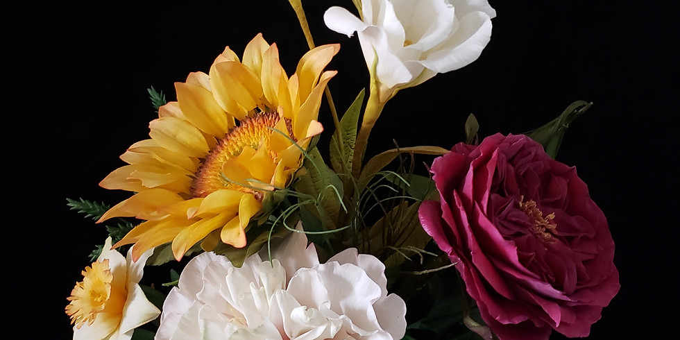 4-Day Course - Botanic Flowers - PME 5 Star Sugar Artist Course