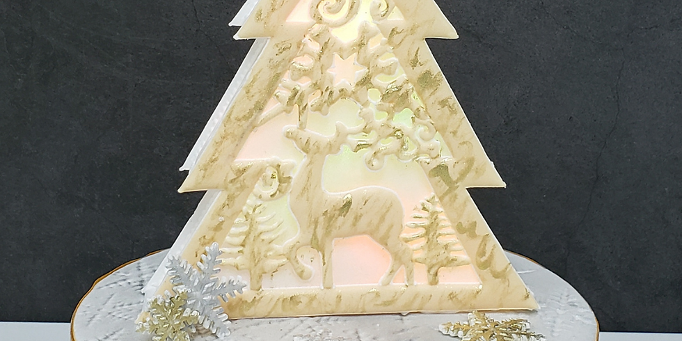2-Day Course - Icing Christmas Tree Lightbox