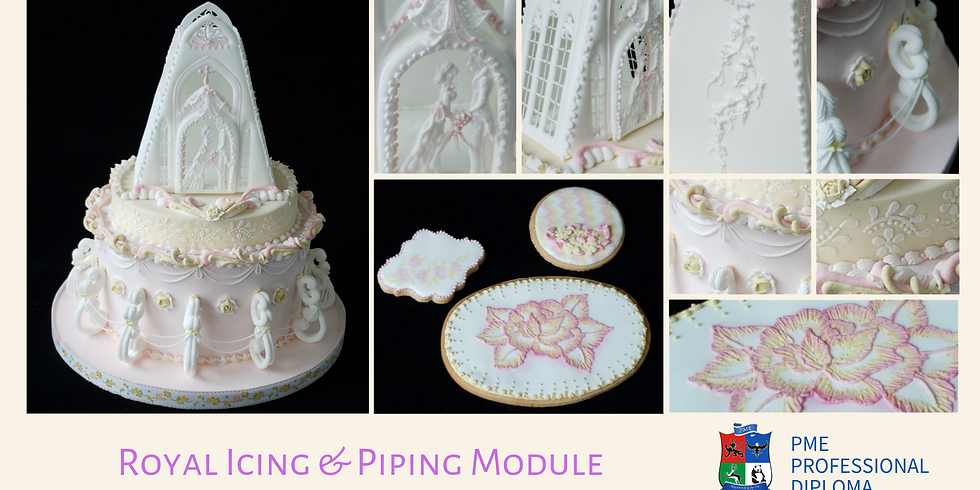 4-Day Intensive Course - PME Diploma - Royal Icing & Piping Module