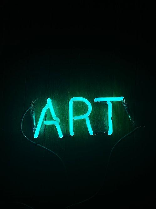 Art Neon sign